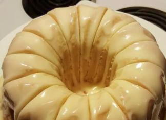 vanilla buttermilk pound cake with cream cheese glaze