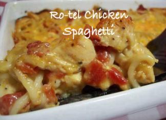 ro-tel chicken spaghetti