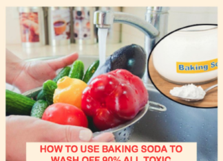 How to Use Baking Soda to Wash Off 90% of All Toxic Pesticides from Your Fruits and Vegetables