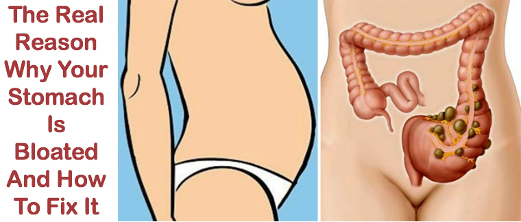 The Real Reason Why Your Stomach Is Bloated And How To Fix It